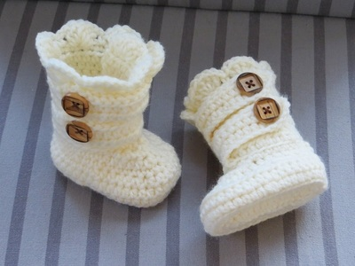 Free Crochet Pattern Baby Snow Boots : All Crochet Patterns